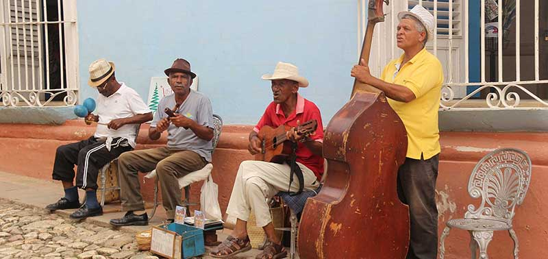Cuban traditional music group